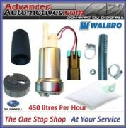 SUBARU IMPREZA FAST ROAD COMPETITION FUEL PUMP KIT - WALBRO 450 LPH  2001 V7 8 9
